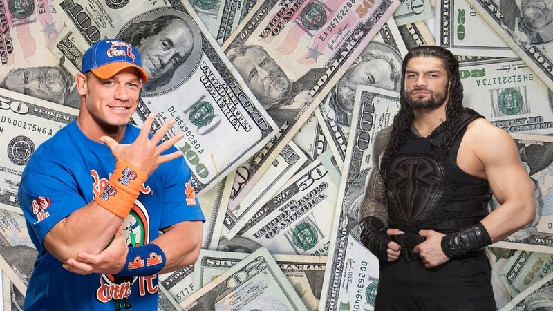 Best 5 Highest Salary WWE Wrestlers Superstars 2019