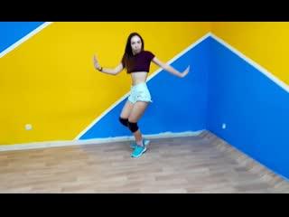 Dance танец тверк twerk хип хоп (cardi blike it)