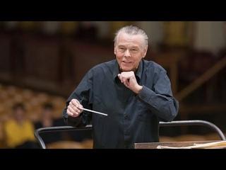 BRSO: Mariss Jansons probt die 4. Symphonie von J. Brahms