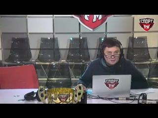 Под Василием Уткиным в прямом эфире сломалось кресло