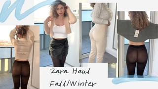 HUGE ZARA TRY-ON HAUL - FALL WINTER OUTFITS