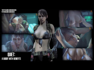 Quiet - a buddy with benefits (metal gear sex)