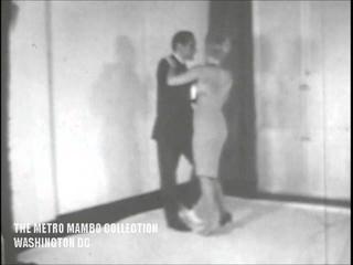 KILLER JOE PIRO ~ Pachanga dance instruction 8mm film (1961)