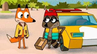 Мультфильм Лекс и Плу: Космические таксисты - 1 серия HD