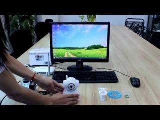 Автономные беспроводные поворотные WiFi IP-видеокамеры для наблюдения через Интернет 5