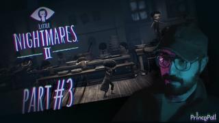 It's Getting So Crazy In This School!! 🙁 | LITTLE NIGHTMARES II | Walkthrough Gameplay Part #3