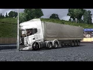 PhysX - Lock Your SeatBelt - Crash Test - ETS2 - Euro Truck Simulator 2 - Движок PhysX в  ЕТС 2