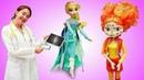 Видео для малышей Веселая школа Кукла Доктор Плюшева приглашает игрушки на осмотр