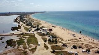 Евпатория 2021, Молочное, ДИКИЕ пляжи набирают популярность, отдых с палаткой, озеро Тереклы. Крым