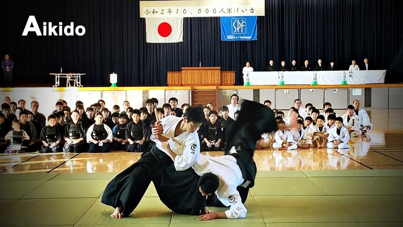 This is Aikido Model demonstration in 2020 Shirakawa Ryuji shihan