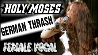 HOLY MOSES - немецкий thrash с женским вокалом / German thrash metal female vocal / Обзор от DPrize