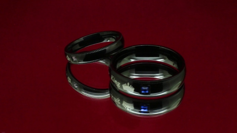 Парные кольца для влюбленных Хранители Интриги