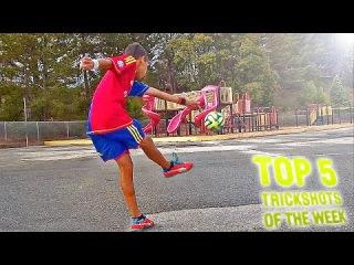 TOP 5 Soccer Football Trickshots I WEEK #03 2014