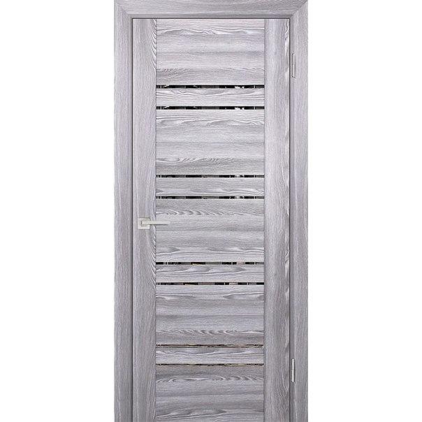 Межкомнатная дверь РЕВЬЕРА 38 (ОРЕХ МРАМОР)