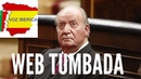 Fulminada la web de Vozibérica con la Presunta Información que Juan Carlos de Borbón Traía a España