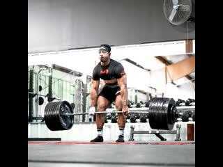 Становая тяга 335.5 кг на 1 повторений