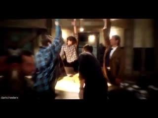 Misha Collins | Jensen Ackles | Jared Padalecki | Alexander Calvert | Supernatural | V I N E