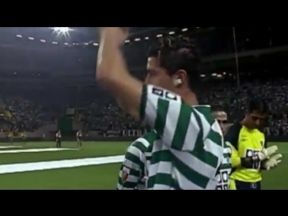 16 years ago in 2003. manchester united lost to sporting lisbon in a friendly. a yo