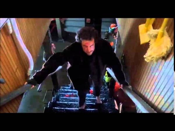 Home Alone Marv Steps On a Nail