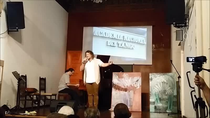 MARTIN ALVARADO JUAN MIGUEL EXPOSITO VETE DE MI live at National Tango Academy of Buenos Aires