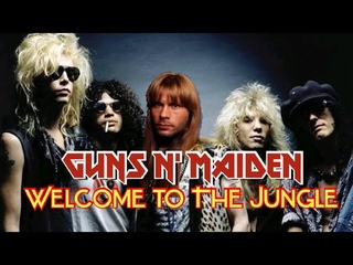 What if Bruce Dickinson sang for GUNS N' ROSES?! - Welcome To The Jungle
