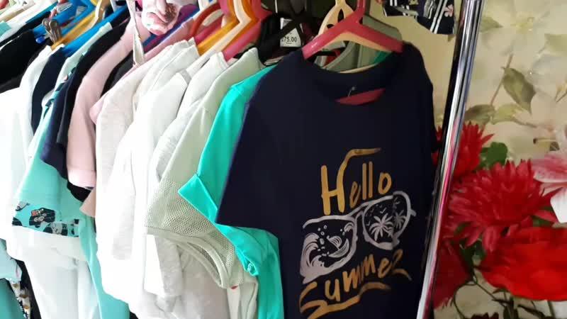 Видео Обзор огромный ассортимент футболок и туник в нашем магазине