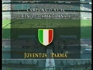 SERIE A 1993~1994 28節 ユベントス vs パルマ JUVENTUS vs PARMA