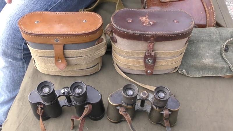 Офицерский бинокль РККА 1944 Red Army officer's binoculars 1944