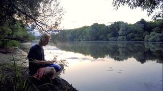 Медитация с глюкофоном у реки // Tank drum meditation near the river