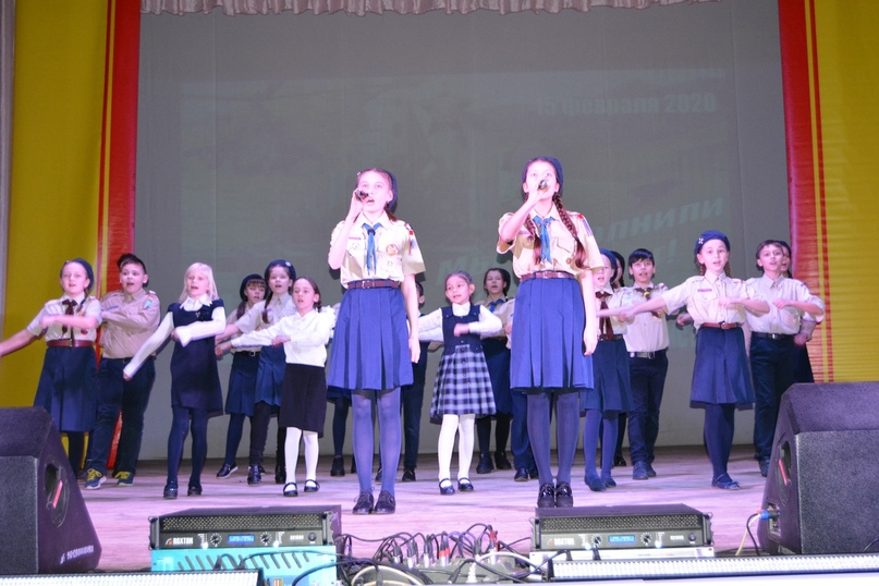 Разведчики г. Канаша приняли участие в фестивале солдатской песни