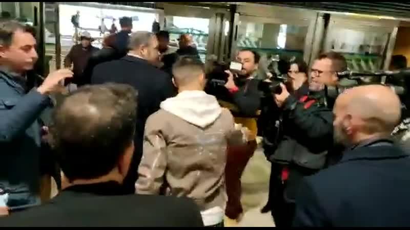 Suso arrives in Seville