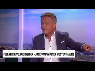 Fellner! LIVE Die Insider - Cap vs. Westenthaler (am 16. Sept 2020)