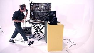YOUTH8500 LIVE On Kosmo Modular Synthesizer