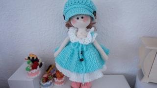 Tilda doll jumper skirt crochet tutorial