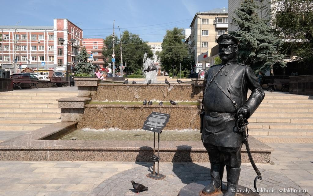 Памятник городовому, Саратов 2020