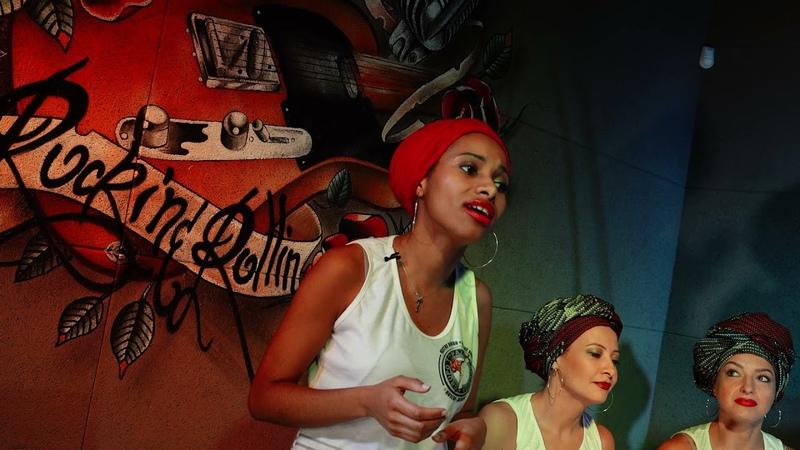 Aluna Amália Miambo Música Sem capoeira não posso viver
