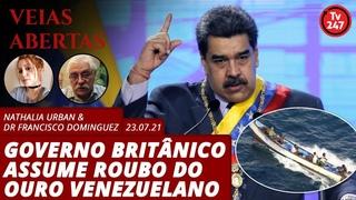 Veias Abertas - Governo britânico assume roubo do ouro venezuelano