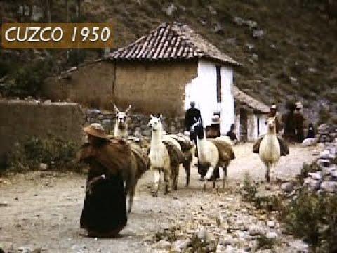 Cusco 1950 Una reliquia de vídeo Cuzco Perú