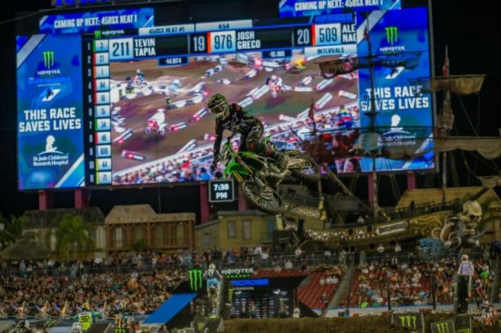 AMA Supercross 2020, этап 11 - Тампа (результаты, фото, видео)