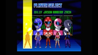 Super Nintendo Mighty Morphin Power Rangers The Movie Мультик-Заставка, Битва с Боссами