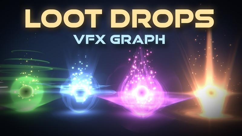 Unity VFX Graph Loot Drop Effect Tutorial