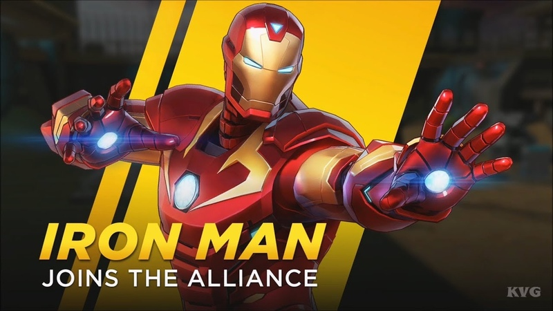 Marvel Ultimate Alliance 3: The Black Order - Iron Man Gameplay (Nintendo Switch HD) [1080p60FPS]
