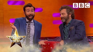 David Tennant doesn't understand the 🍆🍑 emojis 😂 | The Graham Norton Show - BBC