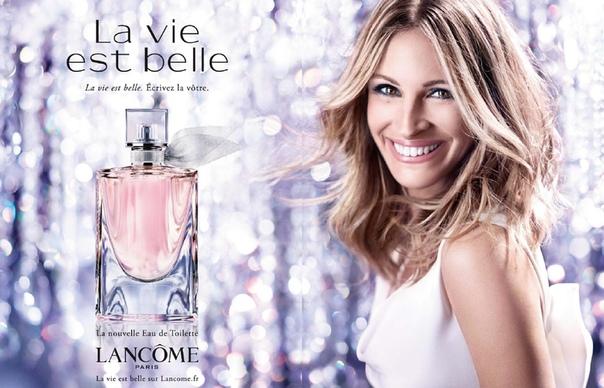 Джулия Робертс в рекламе аромата La Vie Est Belle