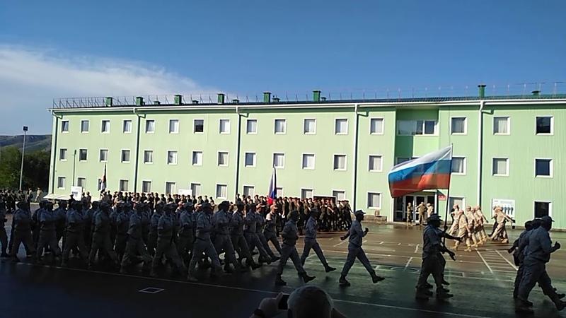 Парад юных гвардейцев нашей школы юнармейцев и кадетов 22 июня 2020г