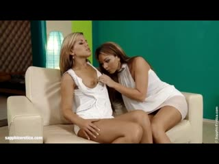 Smooth Sexing - by Sapphic Erotica lesbian sex with Natali Rhianna