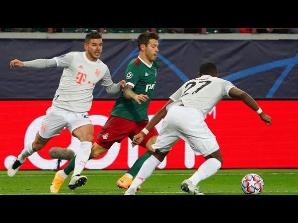 Локомотив Бавария 1 2 Обзор матча