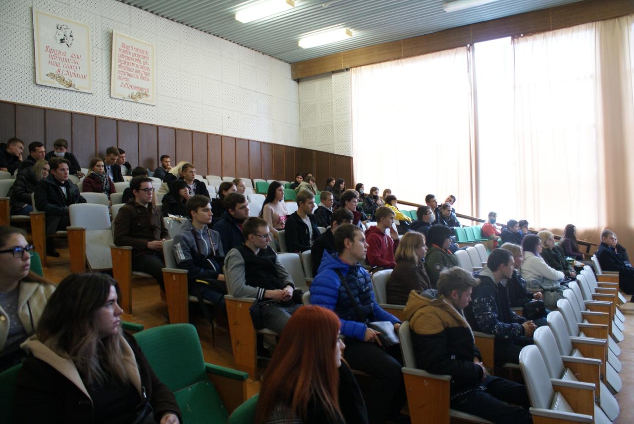 встреча обучающихся ОГАПОУ «Губкинский горно-политехнический колледж» с представителями предприятий города Губкина