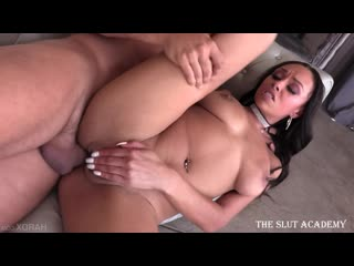 Hard X - Bethany Benz - Naturally Stacked Anal on XCafe