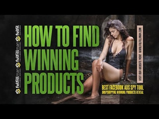 How To Find Winning Products   Best Facebook Ads Spy Tool   Dropshipping Winning Products Reveal